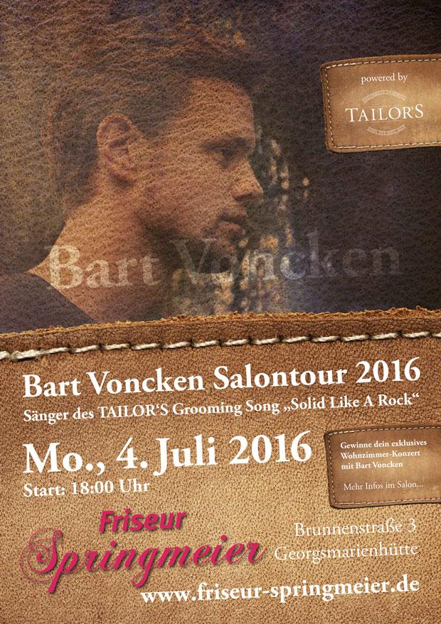 Bart Voncken Salontour 2016
